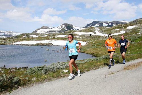 Fra Rallarvegsløpet 2017. Foto: Runar Gilberg.