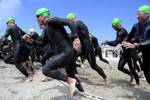 – Svømmetaket bruker mye av de samme musklene som staking, påpeker triatlonveteranen Even Chiodera. Foto: Creative Commons/Pixabay.com.