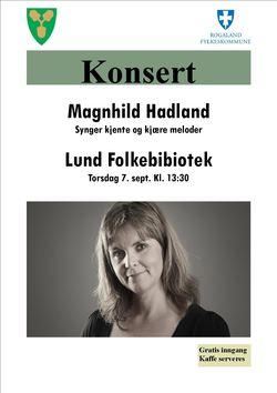 Konsert Magnhild Hadland