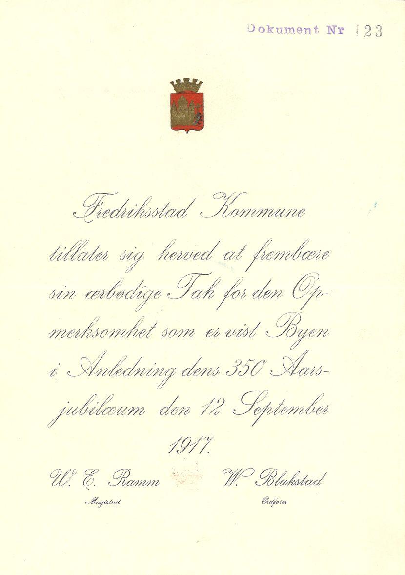 Jubileumsbrev
