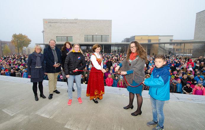 Åpning av Frogner skole og kultursenter
