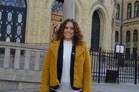 Elin Refsland på Stortingshøring 2017