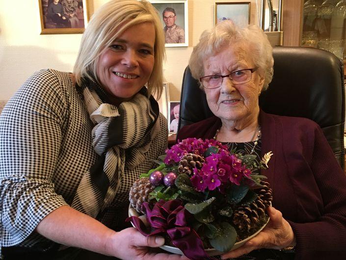 Ingeborg Haugen 100 år