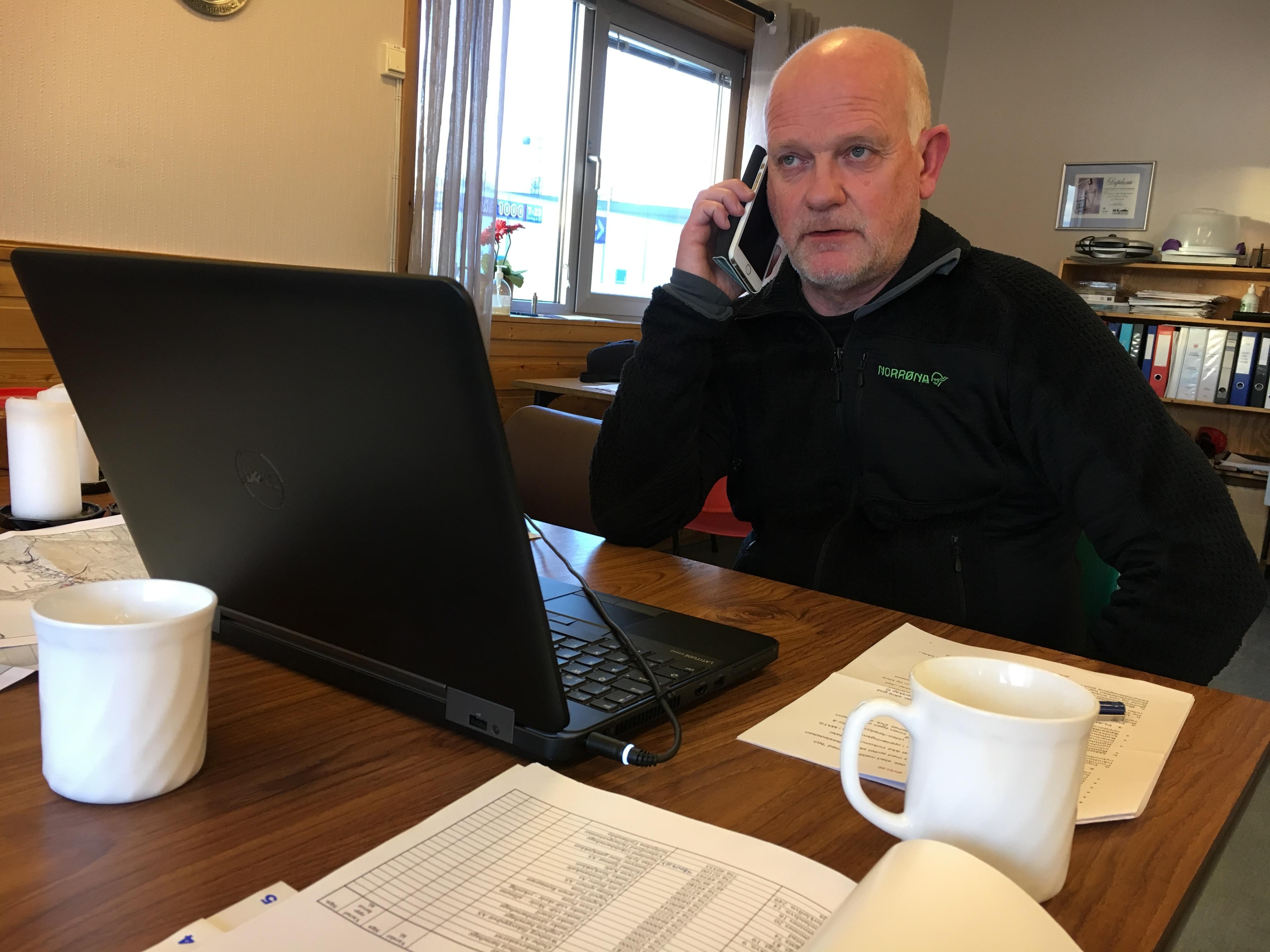 Øvelse Mattilsynet kommunen Frode Ramskjell