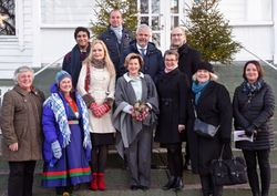 Juryen for Dronning Sonjas Skolepris 2017 (Foto: Udir)