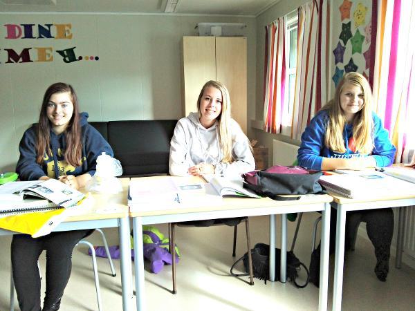 Elise, Renate og Hanna