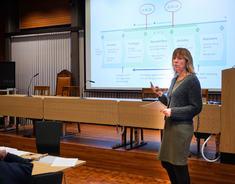 Rådmann og prosjektleder for Lillestrøm kommune Trine Wikstrøm