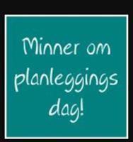 Minner om plandag