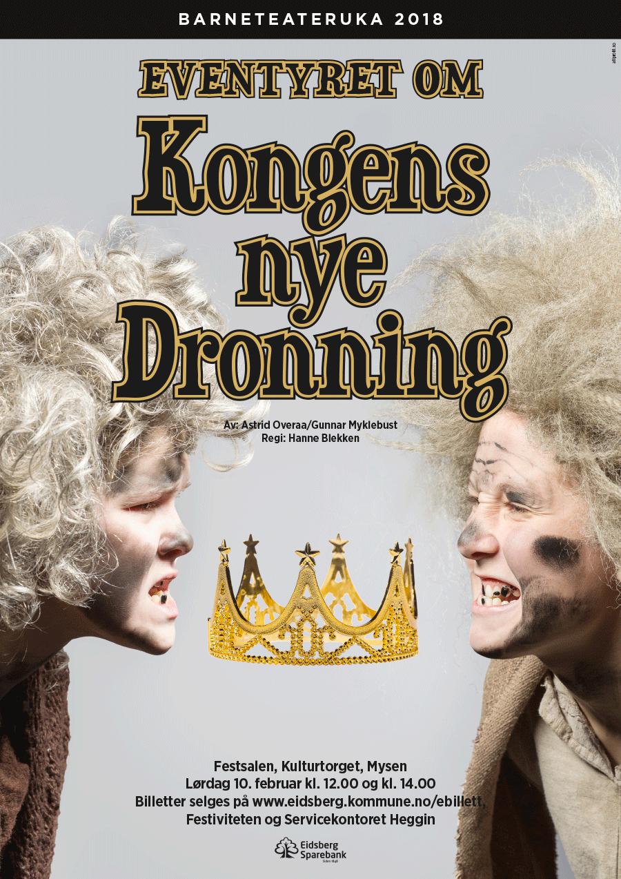 Barneteateruka - Eventyret om Kongens nye Dronning