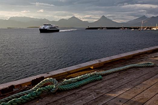 Hurtigbåt bodø sandnessjøen 2018
