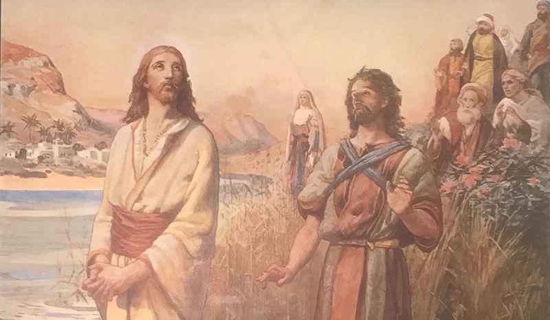 Bibelsk motiv - Jesus dåp