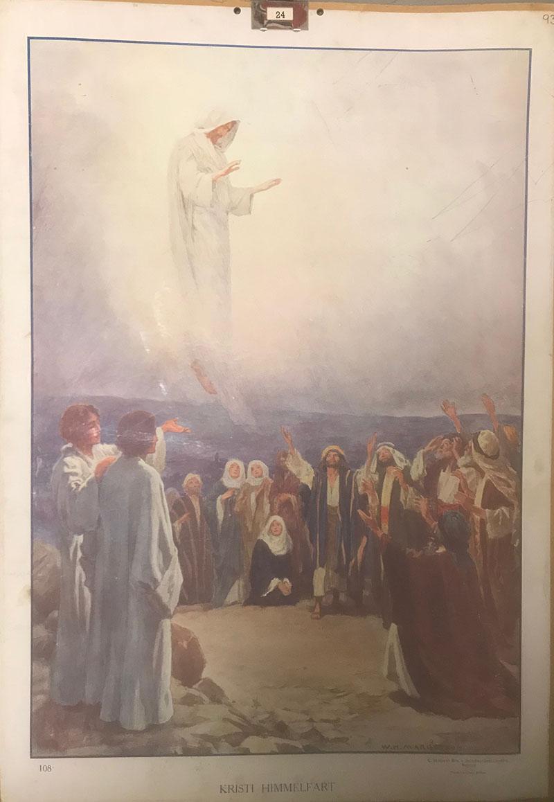 Bibelsk motiv - Kristi Himmelfart