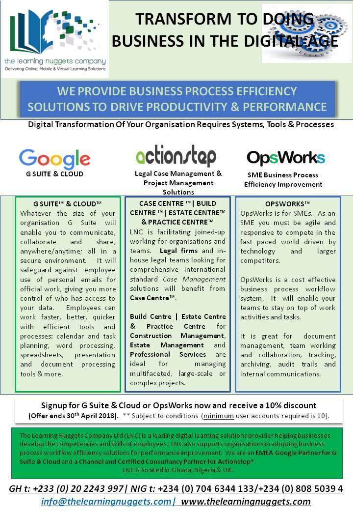 WORK EFFICIENCY PAGE 1