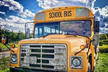 Skolebuss, illustrasjon