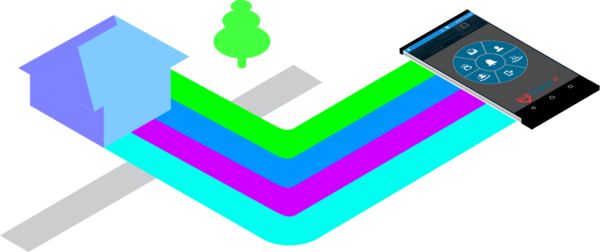 Isometric small building