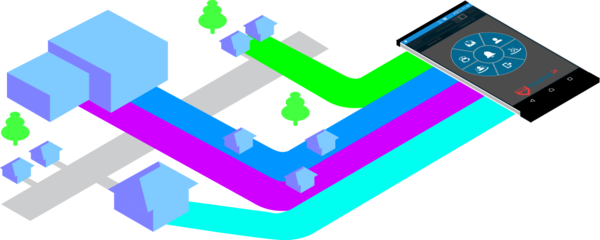 Isometric all buildings