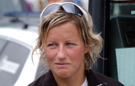 Vibeke Skofterud smilte fra øre til øre etter tredjeplassen på 10 km fristil! thumbnail
