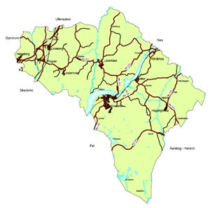 mindre kart  1