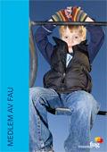 Bilde av en guttunge på en lekeplass på forsiden av Medlem av FAU, hele publikasjonen kan lastes ned