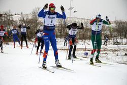 Adam Johansson och Kjetil Dammen sida vid sida