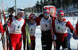 Kristian Tettli Rennemo, Sjur Røthe, Simen Østensen og Roger Aa Djupvik