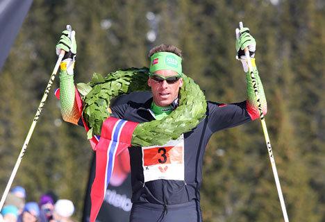 Anders Aukland. Foto: Geir Nilsen / Langrenn.com.