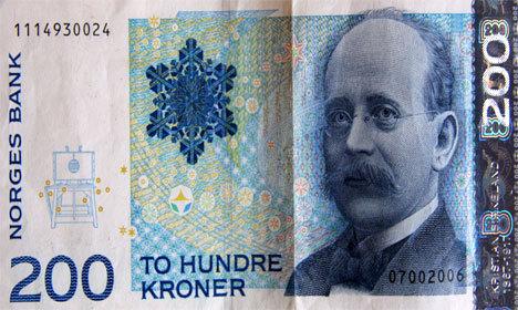 200 kroner.