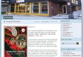 Framsiden på Sør-Varanger biblioteksblogg