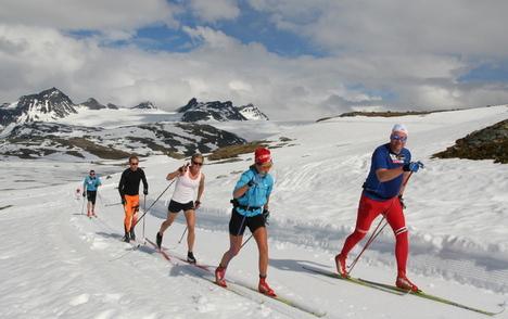 Roar Hjelmeset, Sognefjellet 2010