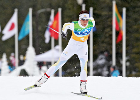 Charlotte Kalla. Foto: Nordic Focus.