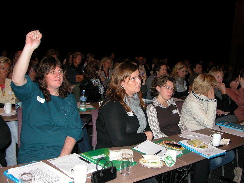 Mange engasjerte foreldre på Foreldrekonferansen 2010