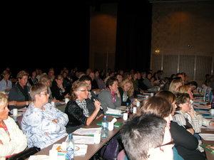 Fullsatt sal på Foreldrekonferansen 2010