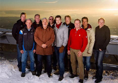 Eurosports kommentator-team vinteridretter 2010/2011. Foto: Eurosport.