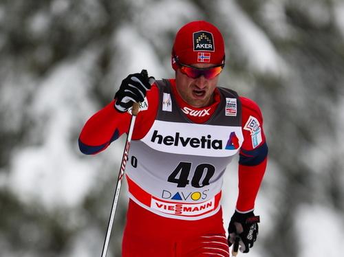Petter Northug, Davos 15 km, 2010