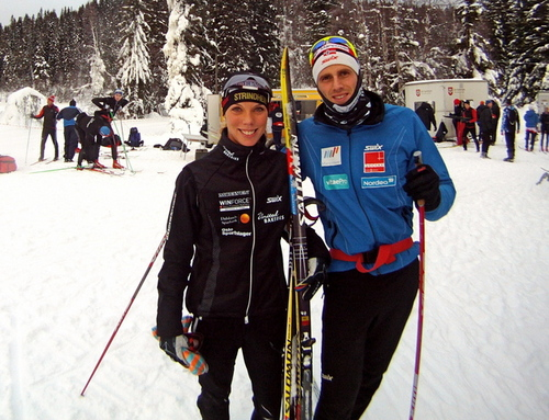Sandra Hansson og Stein Vidar Thun