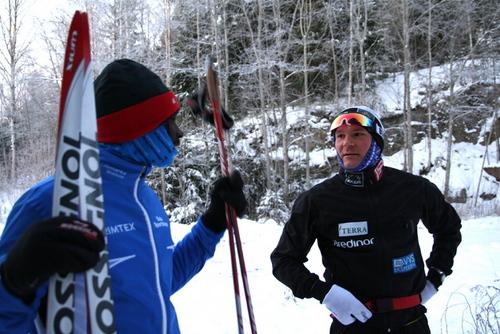 Philip Boit og Øystein Pettersen