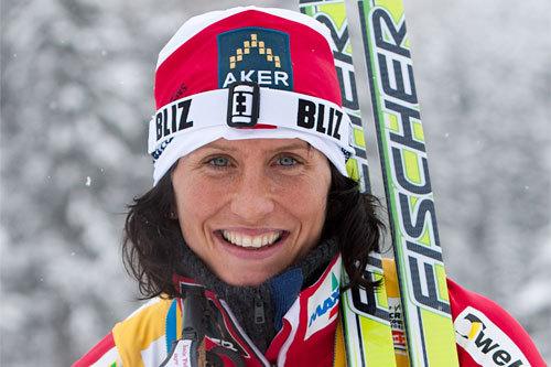 Marit Bjørgen, Davos 2010. Foto: Laiho/NordicFocus.