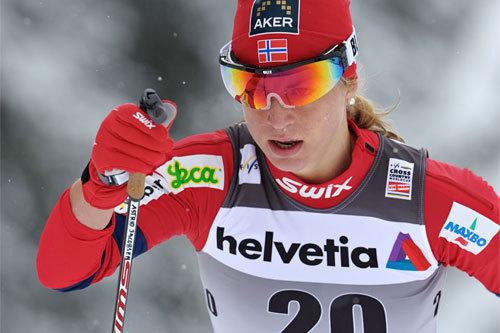 Astrid Uhrenholdt Jacobsen, Davos 2010. Foto: Felgenhauer/NordicFocus.
