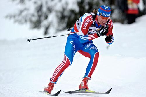 Maxim Vylegzhanin, Davos 2010. Foto: Felgenhauer/NordicFocus.
