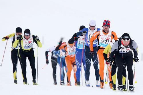 Koasalauf i Østerrike er et av arrangementene i Euroloppet. Foto: Laiho/NordicFocus.
