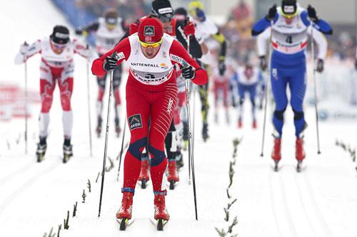 Petter Northug, Tour de Ski 7. etp. Val di Fiemme. Foto: Hemmersbach/NordicFocus.
