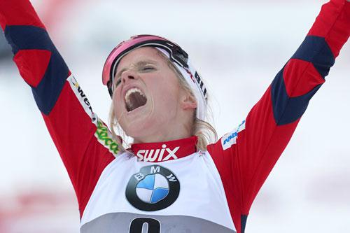 Therese Johaug, Tour de Ski 7. etp. Val di Fiemme. Foto: Hemmersbach/NordicFocus.