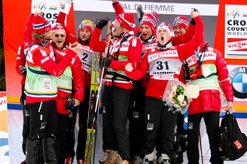 Norge beste nasjon i Tour de Ski 2011. Foto: Laiho/NordicFocus.