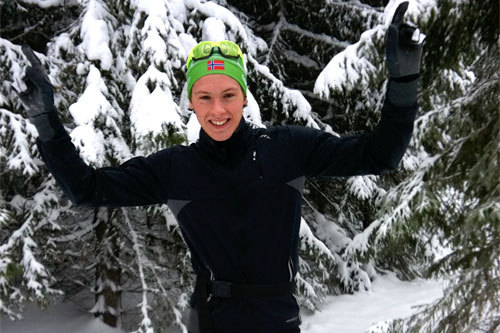 Christoffer Callesen etter seieren i Tolvern 2011. Foto: Martine Nygaard.