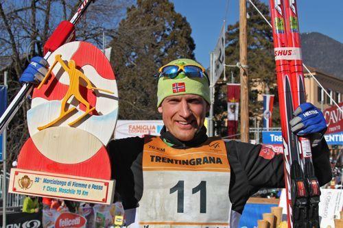 Jerry Ahrlin, vinner av Marcialonga 2011