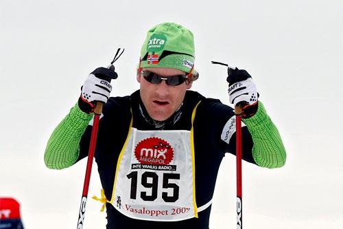 Jens Arne Svartedal, Vasaloppet 2009. Foto: Felgenhauer/NordicFocus.