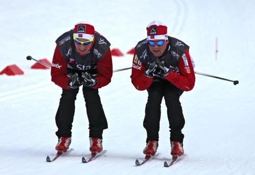Skitesting i Kollen