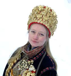 <br> Brudepar fra Øst-Telemark