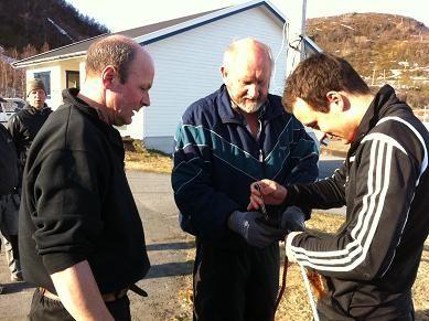 Dugnad 2011 Tom, Asbjørn, Lennart