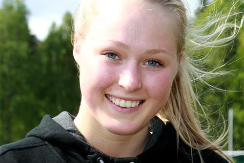 Linn Eriksen på samling med Team Morgendagens helter, mai 2011. Foto: Erik Borg.